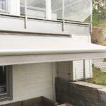 Elegant kasett terrassemarkise - Fasadeprodukter AS - nærbilde