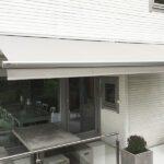 Elegant kasett terrassemarkise - Fasadeprodukter AS - overhengt