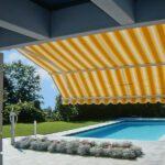 Elegant Marcesa terrassemarkise - Fasadeprodukter AS - gjør det fint på terrassen