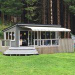 Elegant terrassemarkise - solskjerming fra Fasadeprodukter AS
