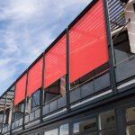 Zip-screen - solskjerming på fasade