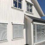 Utvendige persienner - 80 mm - på hus