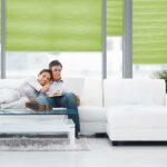 Duettegardiner i stue fra Fasadeprodukter - Alle mulige farger