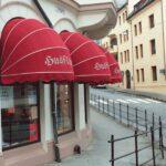Kurvmarkise - Fasadeprodukter AS - restaurant