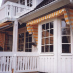 Kurvmarkise - Fasadeprodukter AS - På hus