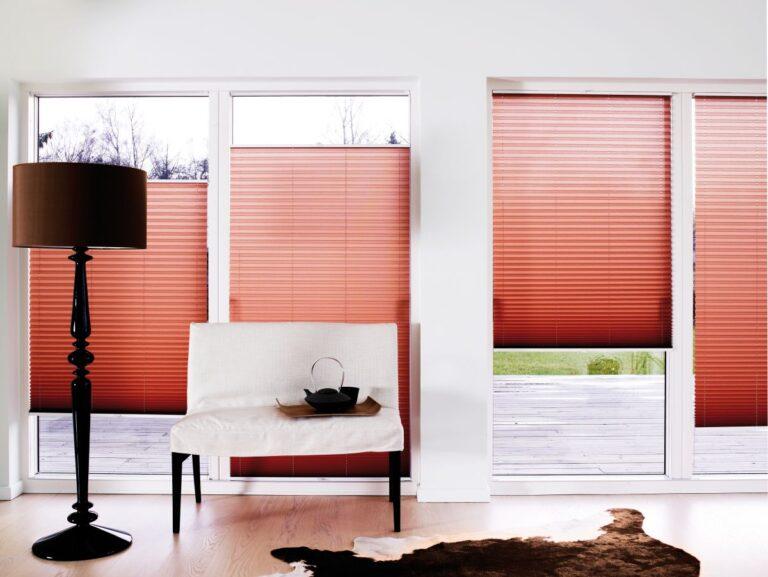 Snorløs plissegardin - Fasadeprodukter AS