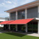 Fasade moderne FA 58 - Fasadeprodukter AS - på uteplass