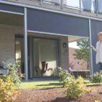 Levegg og vindskjerm til terrasse - Fasadeprodukter AS