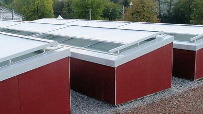 Markiser for glasstak - Fasadeprodukter AS
