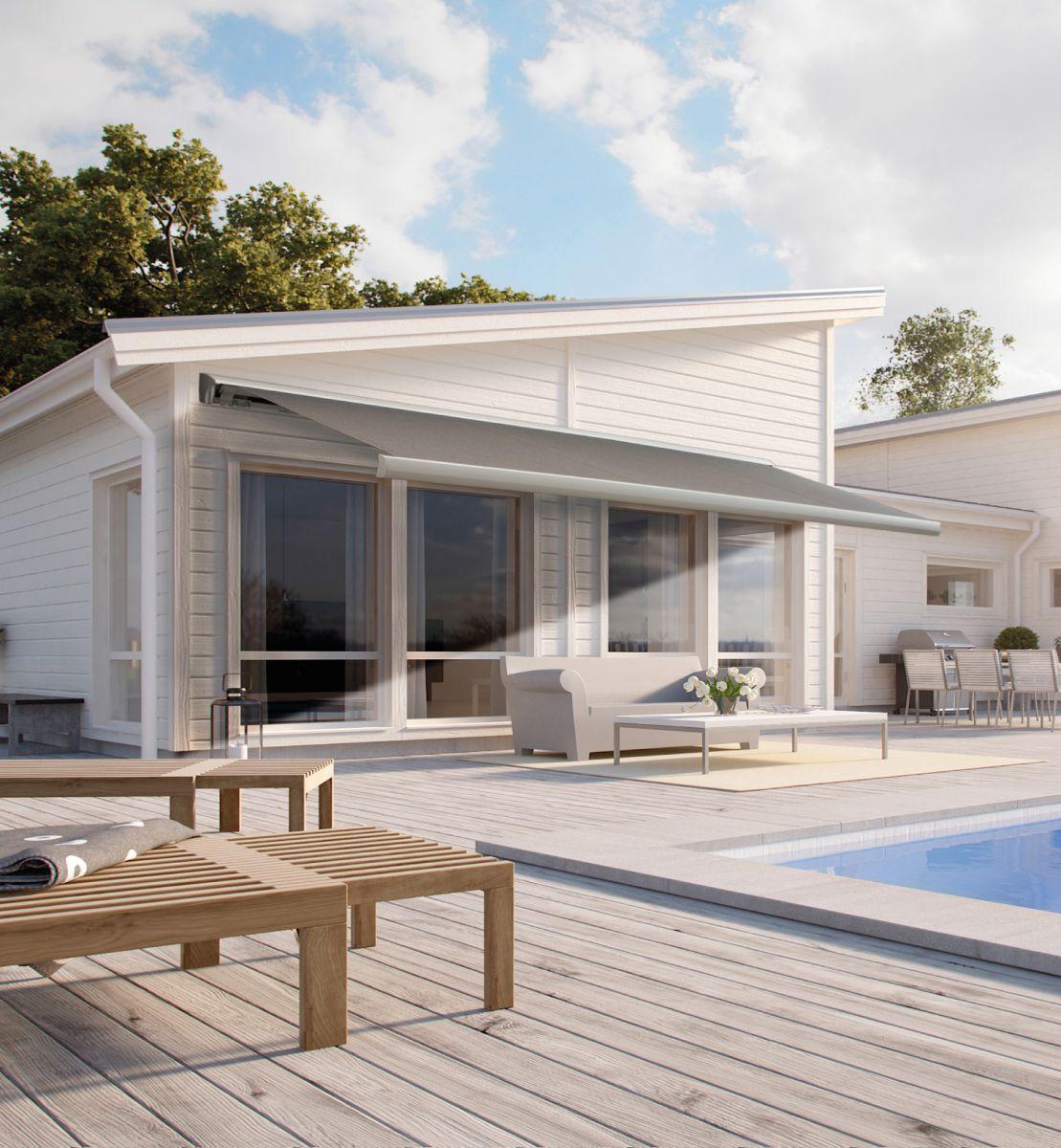 fasade moderne fa 58 terrassemarkise fasadeprodukter. Black Bedroom Furniture Sets. Home Design Ideas