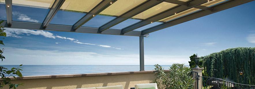 Pergola - utvendig solskjerming - Fasadeprodukter AS - banner