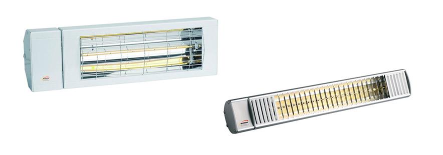 Varmelamper og terrassevarmer - fra Fasadeprodukter AS