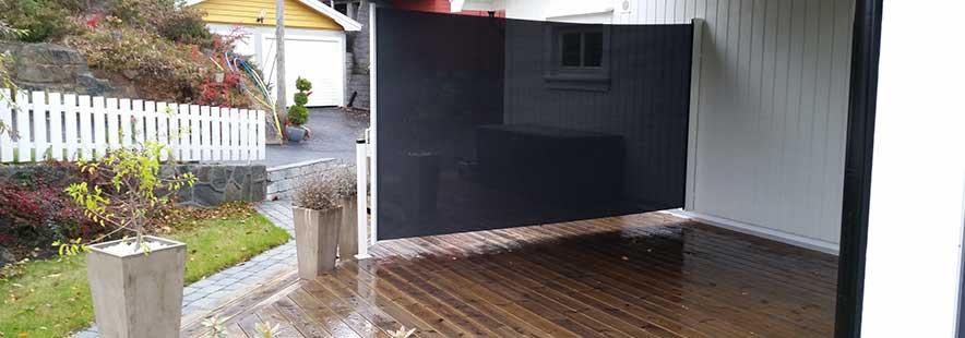 Siro levegg-vindskjerm fra Fasadeprodukter AS