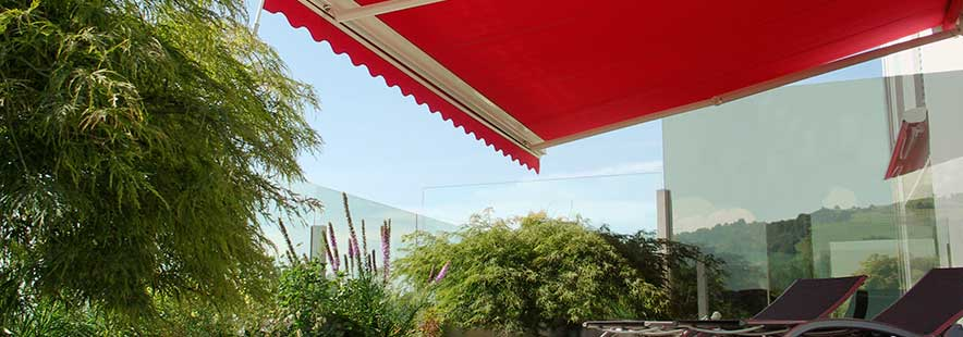 Markiseduk utvendig solskjerming - Fasadeprodukter AS