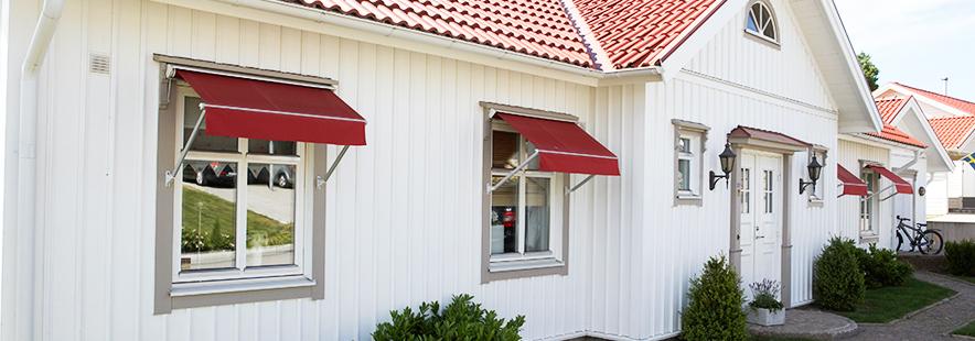 Vindusmarkiser - fra Fasadeprodukter AS - Banner